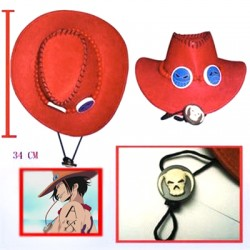 Sombrero One Piece Portgas D. Ace