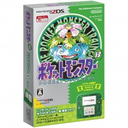 Nintendo 2DS Pocket Monster Green Limited Pack