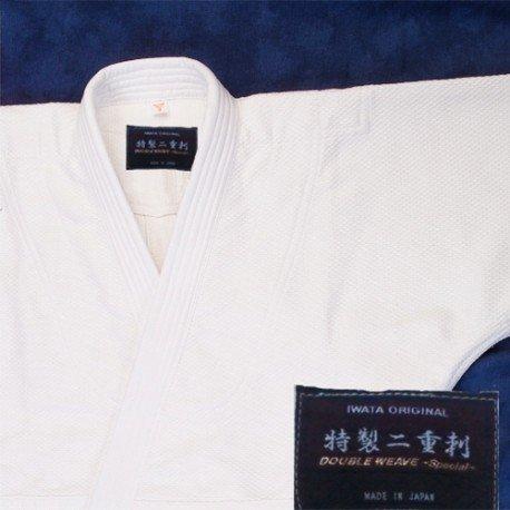 Aikido Gi Iwata Doble Capa Especial con costura