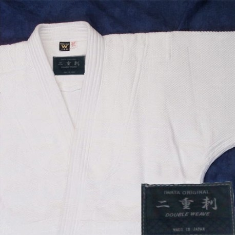 Aikido Gi Iwata Double Weave without seam