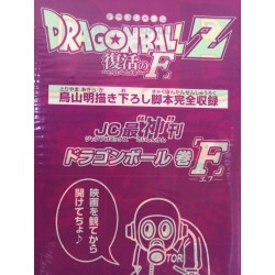 Dragon Ball z Resurrection of F movie Pamphlet