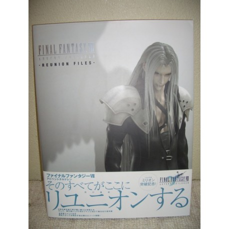 Final Fantasy VII Advent Children: Reunion Files Art Book