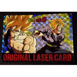 Dragon Ball Z Amada PP Card Original Laser Card(Goku・Trunks)