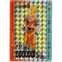 Dragon Ball Z Cardass Amada PP Card No.715 brillante