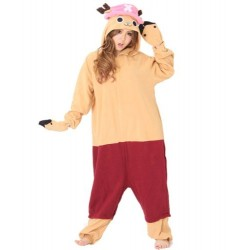 Pijama japones kigurumi cosplay Chopper One Piece