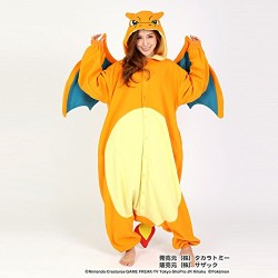 Pokemon Charizard Japanese pijamas kigurumi cosplay