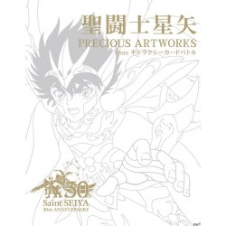 Saint Seiya Precious Artworks from Galaxy Card Battle Artbook