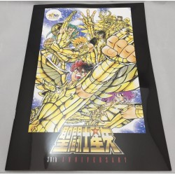 30TH Anniversary Saint Seiya Brochure Exhibition Japan Pamphlet 2016