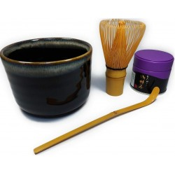 Chado tea ceremony 4 tools equipment (made in Japan Kyoto)