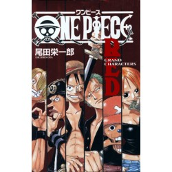 One Piece Grand Characters Red