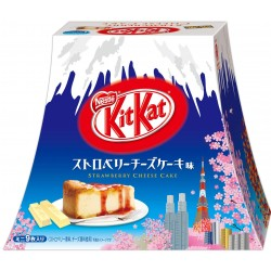 Japanese Kit Kat Strawberry Cheese Cake special Mt.Fuji box