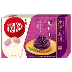 Japanese Kit Kat Beni Imo (Sweet Purple Potato) Chocolate Box