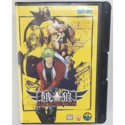 Garou Mark of the wolves Neo Geo AES japanese version
