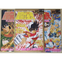 Saint Seiya Artbooks Chevaliers du Zodiaque Jump Gold Selection Anime Special 1,2,3