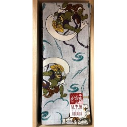 Oni demon Japanese tenugui handkerchief