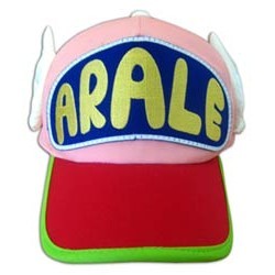 Arale Norimaki and Dr. Slump Cap