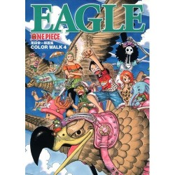 Color Walk 4 Eagle One Piece artbook